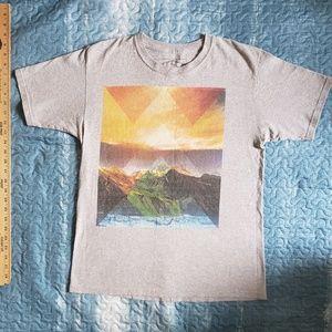 Mens Tops Empyre Mountain Range Graphic T Shirt